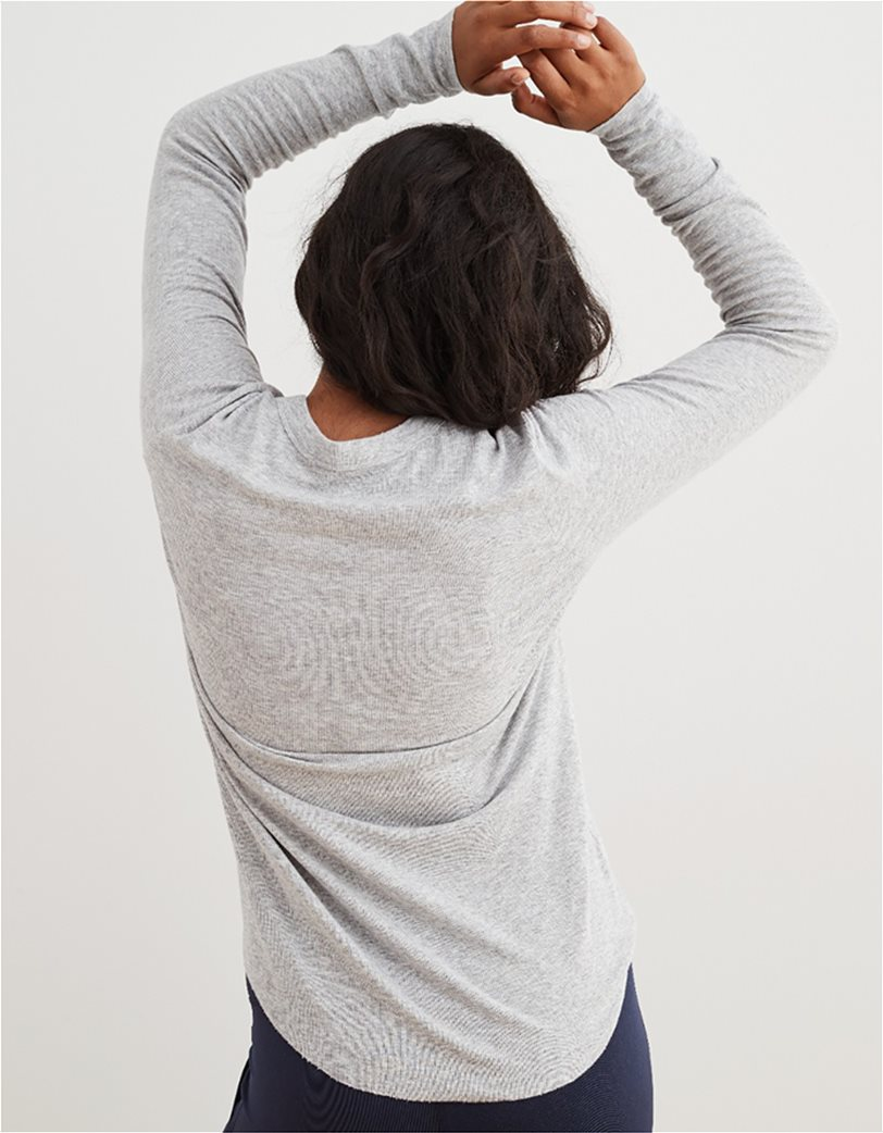Aerie Ribbed Long Sleeve T-Shirt 1