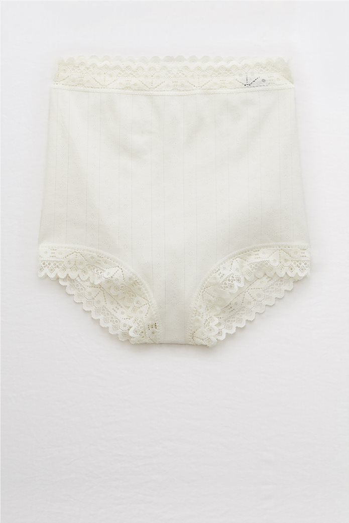 Aerie Cotton High Waisted Boybrief Undie 0