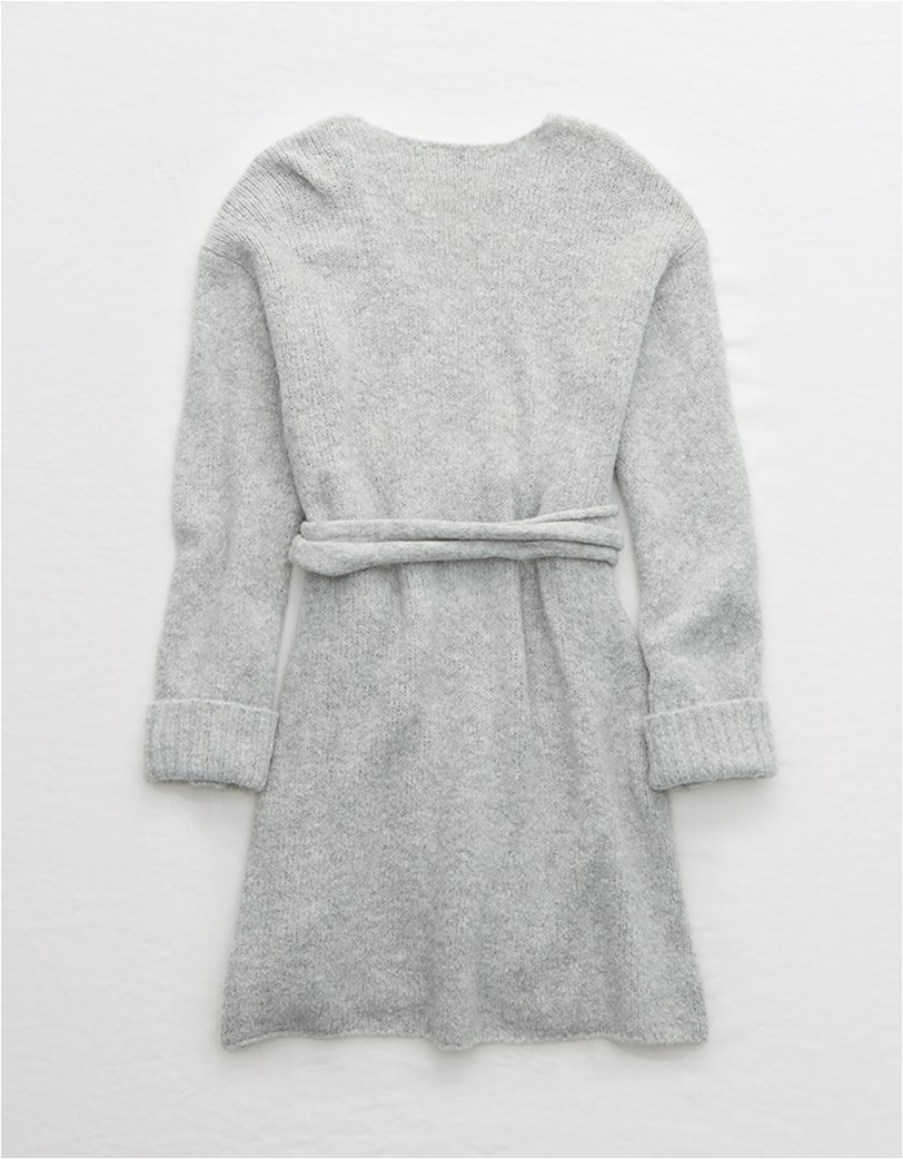 Aerie Sweater Wrap Dress 4