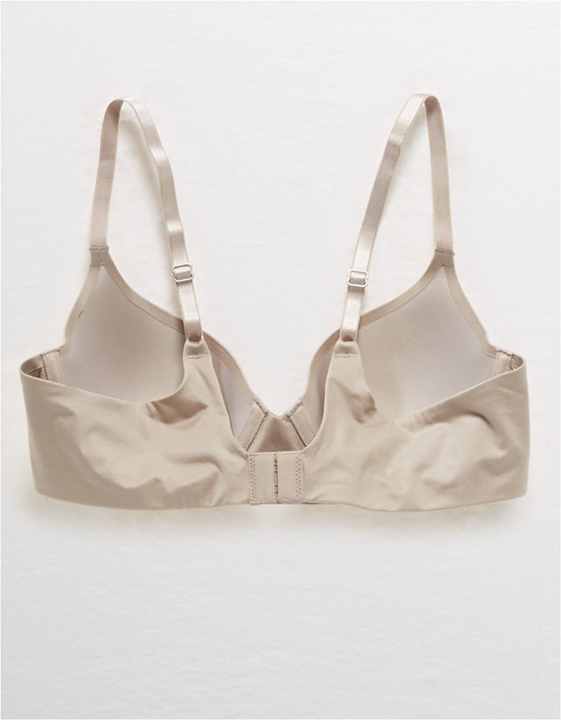 Aerie Real Sunnie Full Coverage Lightly Lined Bra Nude 4