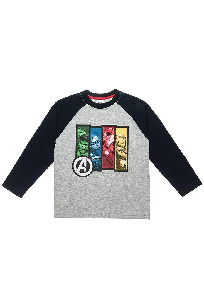 """Alouette παιδική μπλούζα μακρυμάνικη με print """"Avengers"""" (3-10 ετών) 0"""