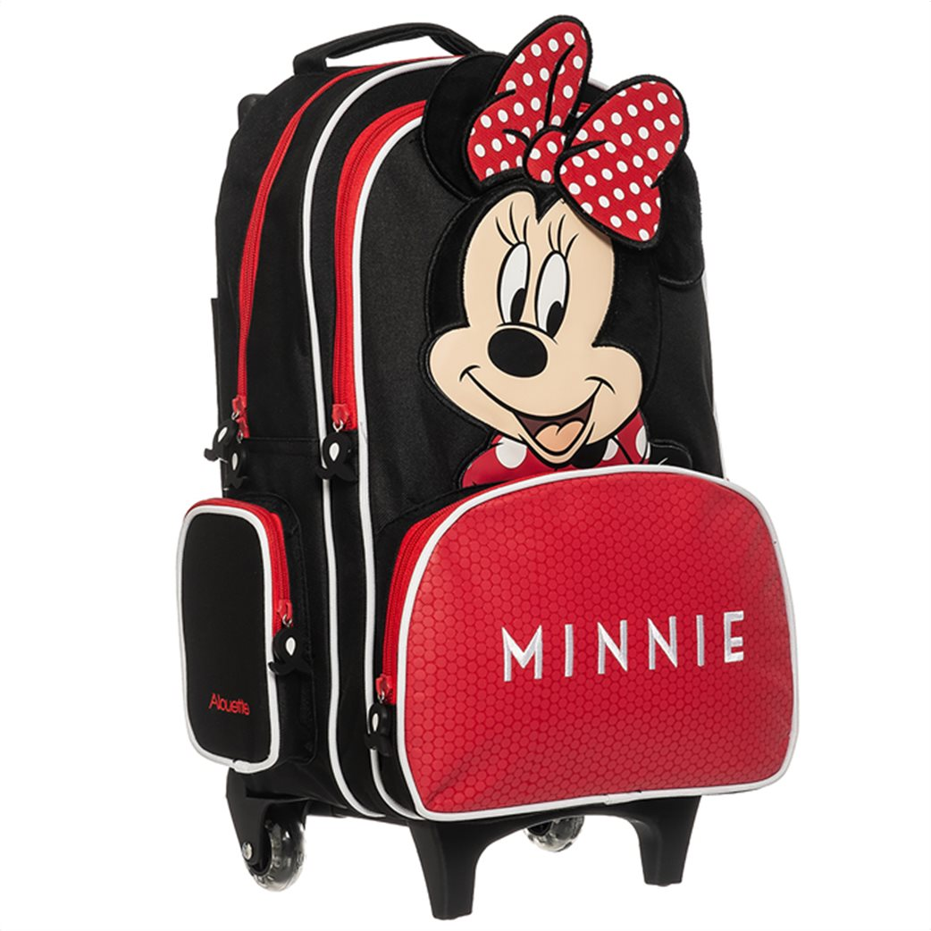 """Alouette παιδική βαλίτσα-τρόλεϋ """"Minnie Mouse"""" (3+ ετών) 2"""