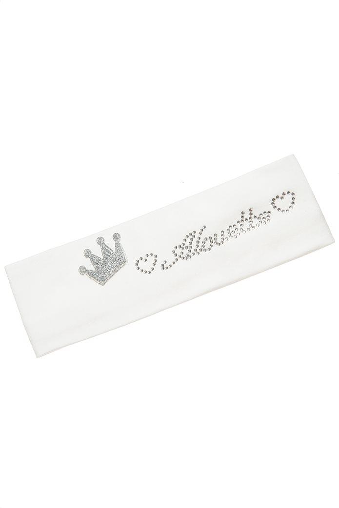Alouette βρεφική κορδέλα μαλλιών με στρας και glitter (1-4 ετών) 0