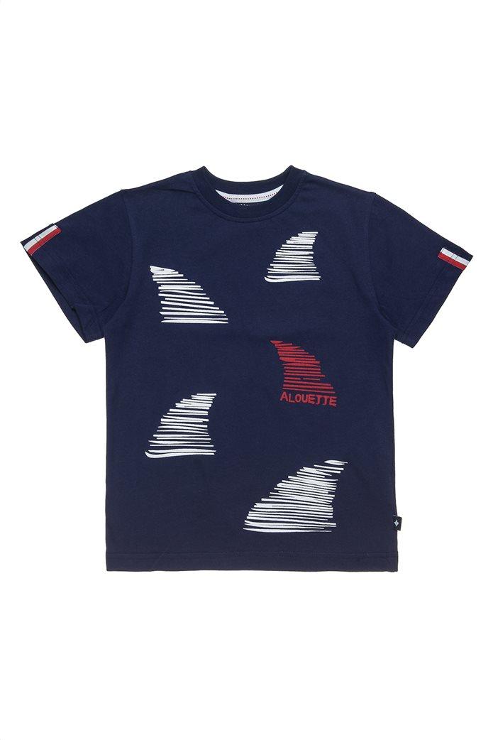 Alouette παδικό T-shirt με ανάγλυφο τύπωμα (6-16 ετών) 0