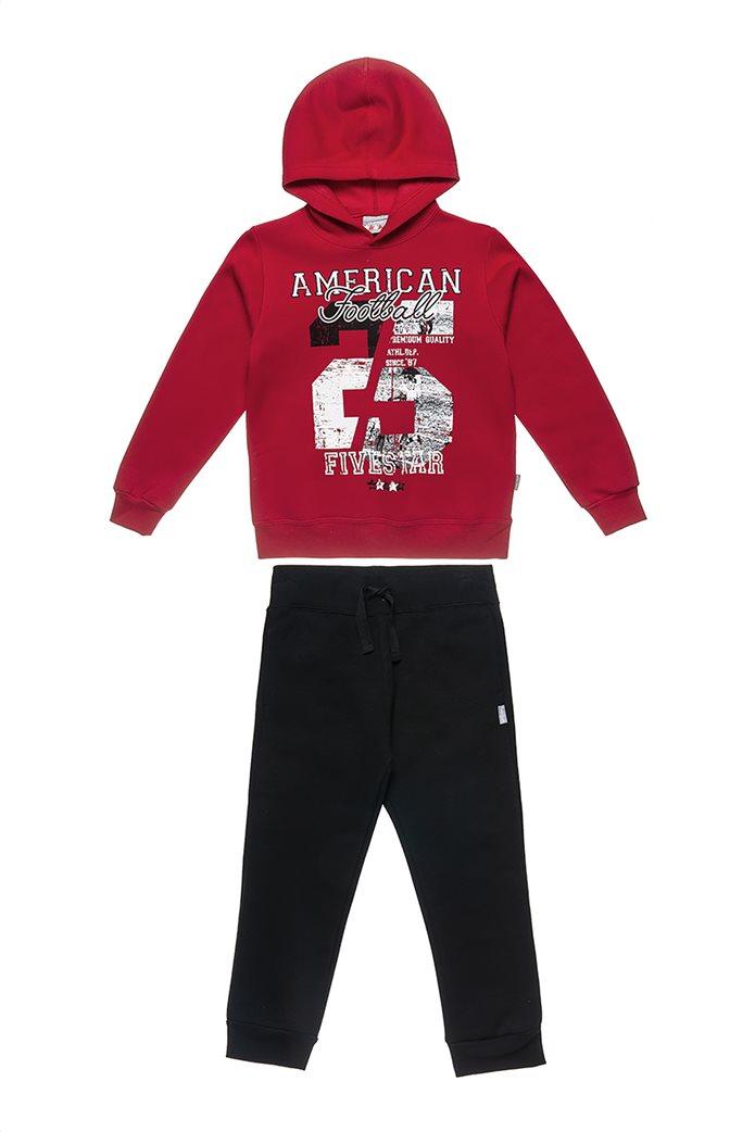 "Alouette παιδικό σετ με φούτερ και παντελόνι ""Five Star"" (6-14 ετών) 0"