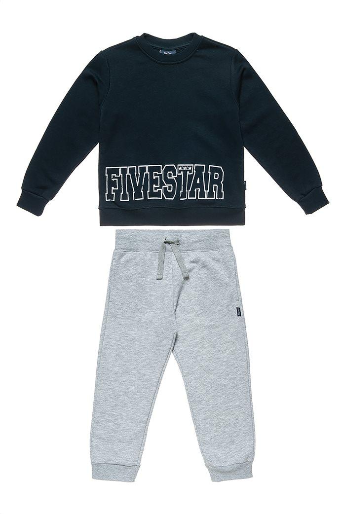 "Alouette παιδικό σετ με φούτερ με print και παντελόνι ""Five Star"" (6-16 ετών) 0"