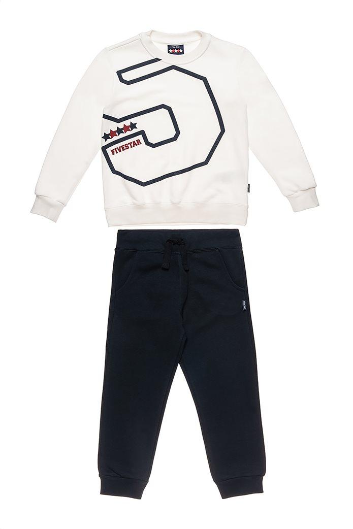 """Alouette παιδικό σετ ρούχων φόρμας και μπλούζας με number print """" Five Star"""" (6-16 ετών) 0"""