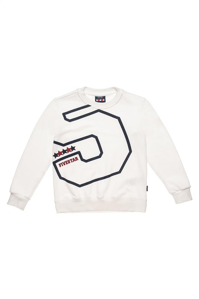 """Alouette παιδικό σετ ρούχων φόρμας και μπλούζας με number print """" Five Star"""" (6-16 ετών) 1"""