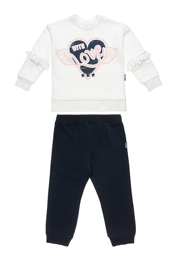 "Alouette παιδικό σετ με φούτερ και παντελόνι ""Five Star"" (9 μηνών-5 ετών) 0"