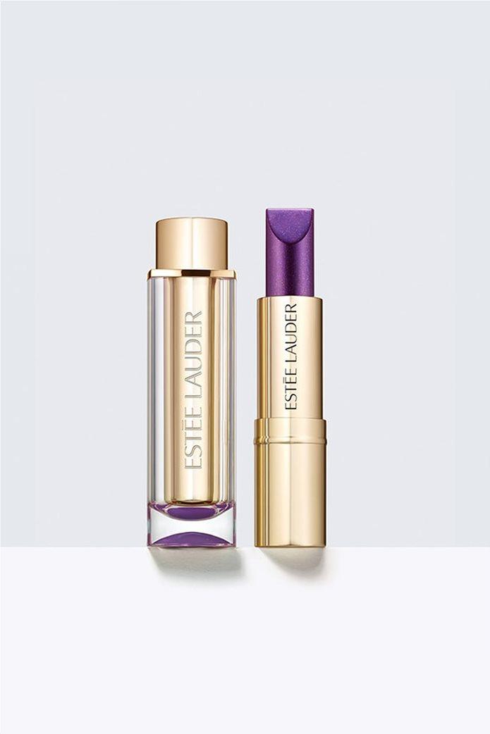 Estée Lauder Pure Color Love Lipstick Chrome 485 Violet Ray 3,5 gr. 0