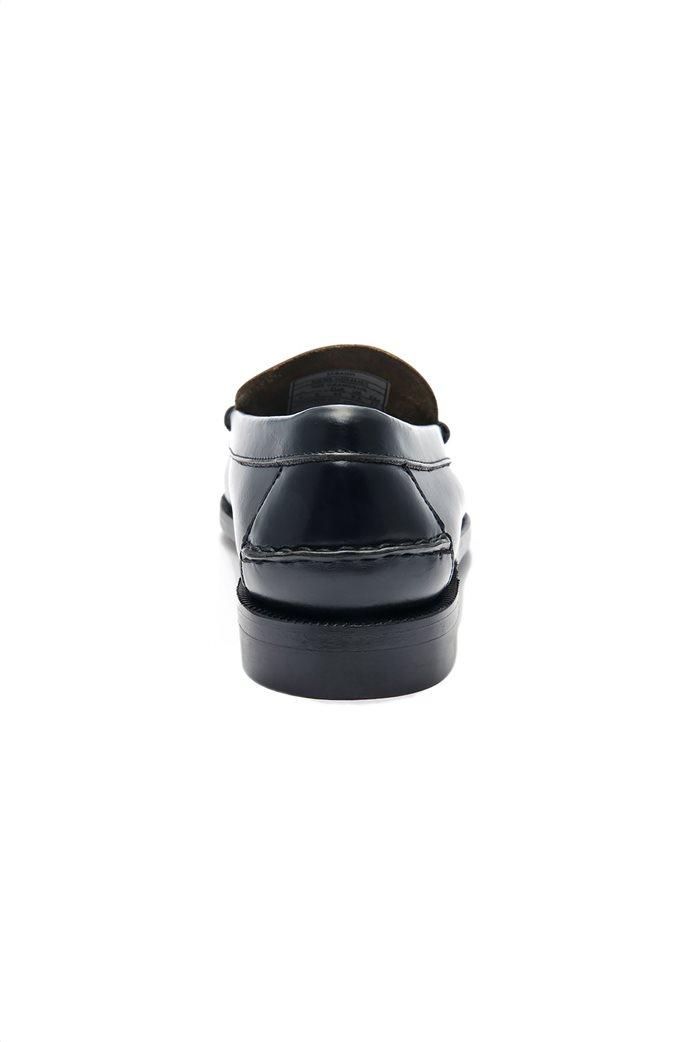 Sebago ανδρικά loafers δερμάτινα Classic Black Dan 3