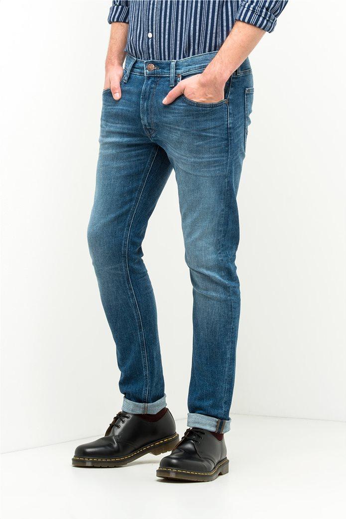 Ανδρικό παντελόνι τζην Luke slim tapered Lee 0