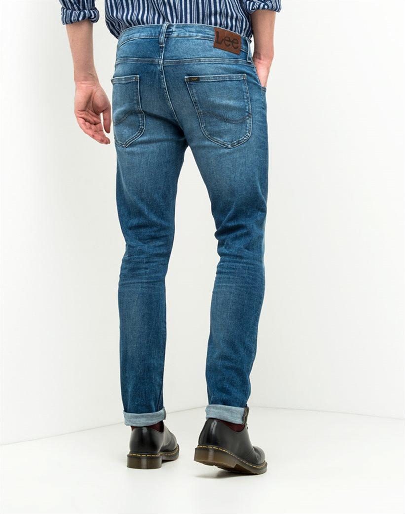 Ανδρικό παντελόνι τζην Luke slim tapered Lee 1