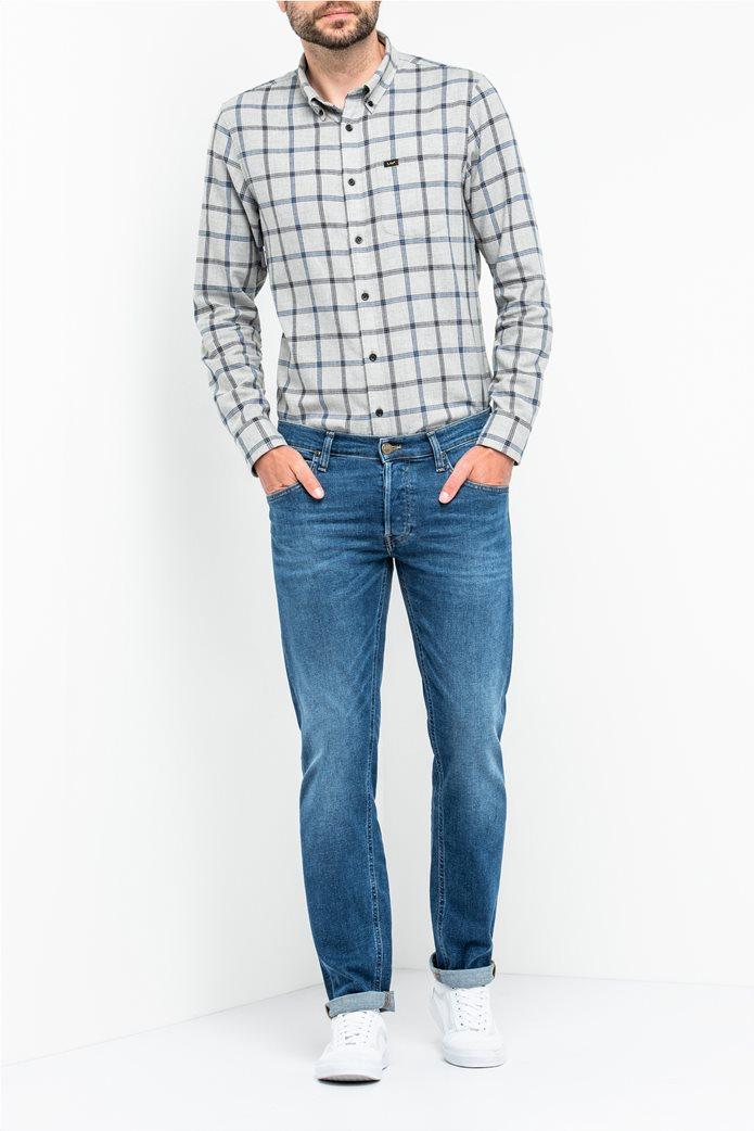 Lee Daren regular slim ανδρικό τζην παντελόνι Blue Drop 0