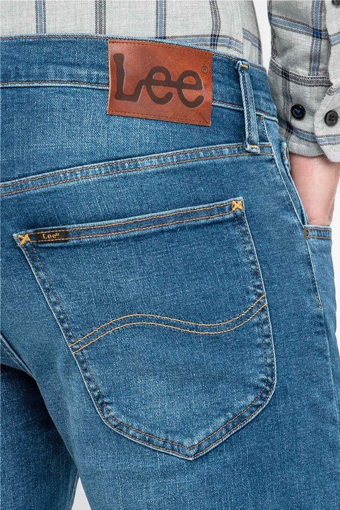 Lee Daren regular slim ανδρικό τζην παντελόνι Blue Drop 3