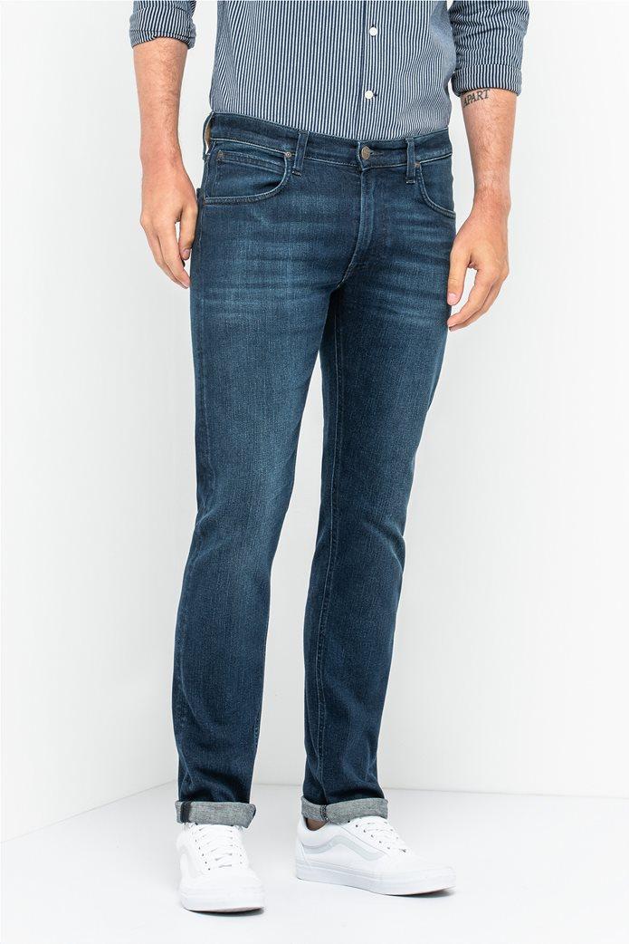 Lee Daren Zip Fly regular slim ανδρικό τζην παντελόνι Dark Used 0