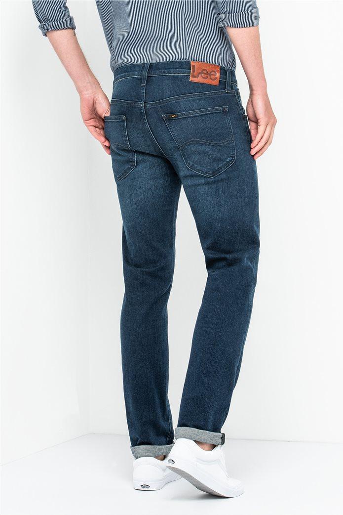 Lee Daren Zip Fly regular slim ανδρικό τζην παντελόνι Dark Used 1