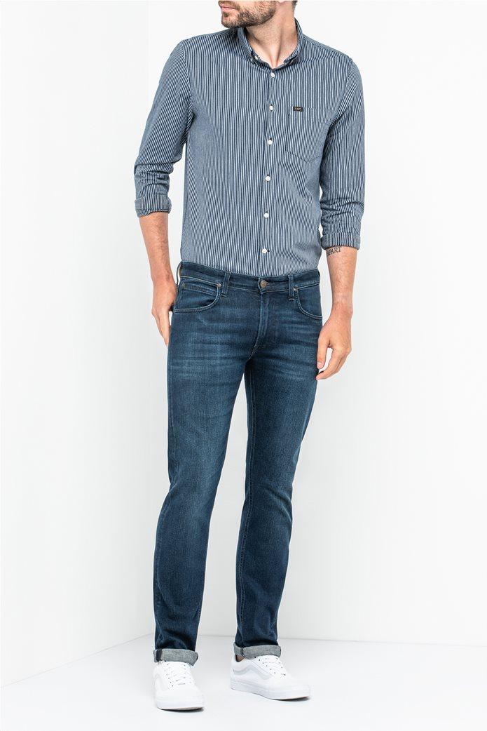 Lee Daren Zip Fly regular slim ανδρικό τζην παντελόνι Dark Used 2