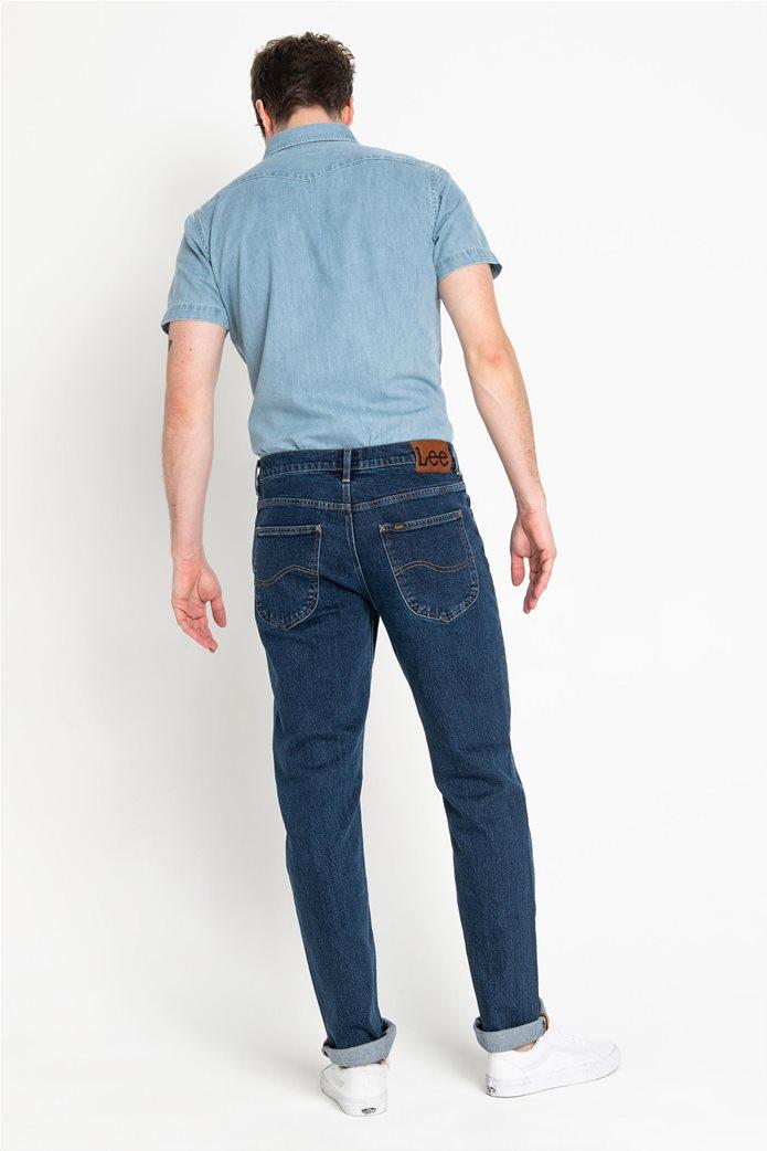 Lee ανδρικό τζην παντελόνι Regular Straight Brooklyn 1
