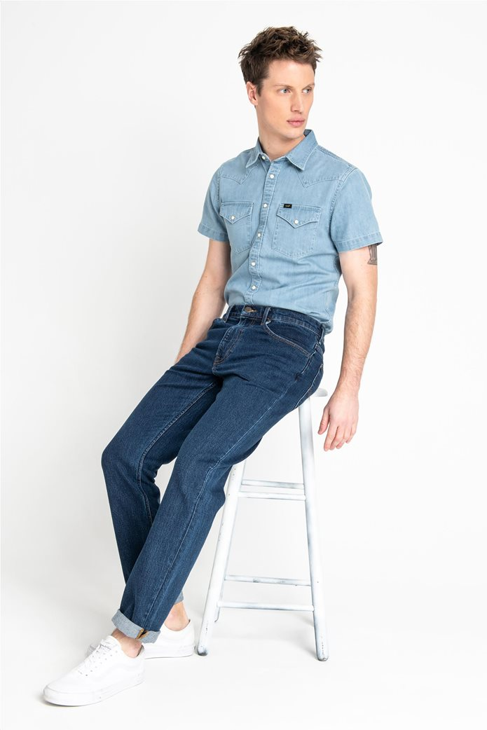 Lee ανδρικό τζην παντελόνι Regular Straight Brooklyn 2