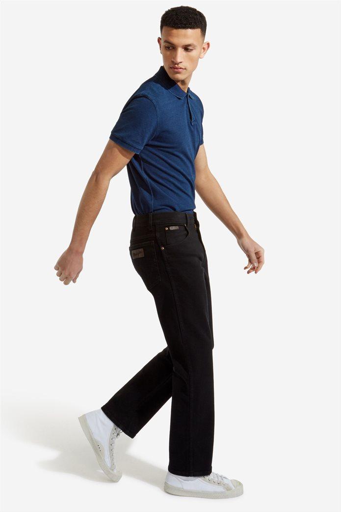 Wrangler ανδρικό μαύρο παντελόνι Texas Stretch 0