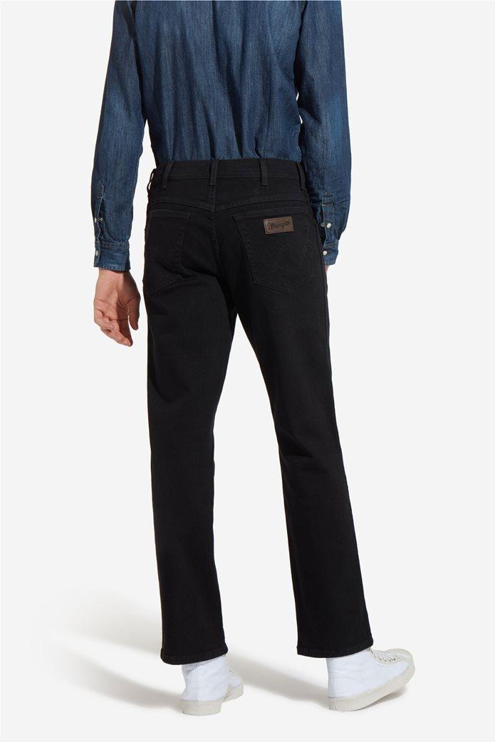 Wrangler ανδρικό μαύρο παντελόνι Texas Stretch 2