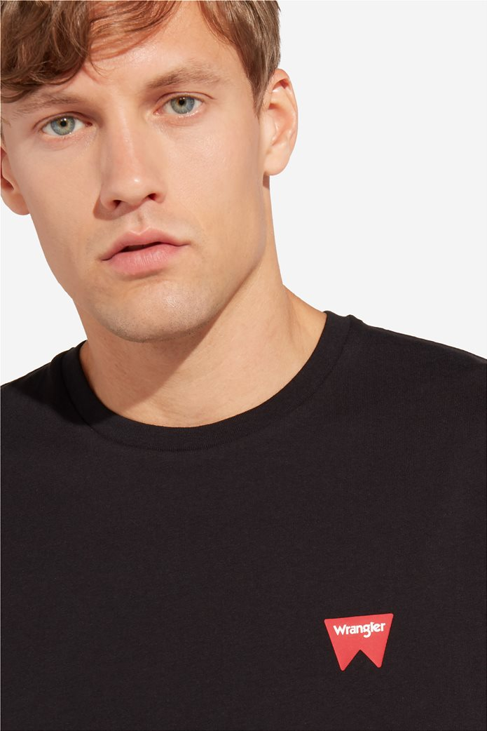 "WranglerανδρικόT-shirt""Sign Off Tee"" 1"