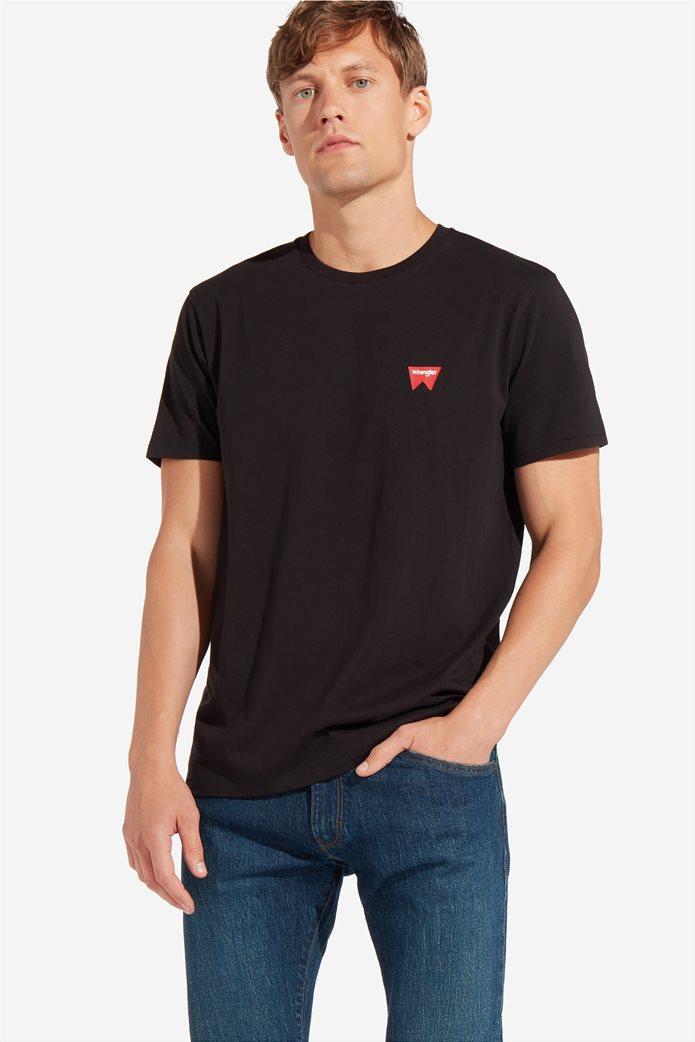 "WranglerανδρικόT-shirt""Sign Off Tee"" 2"