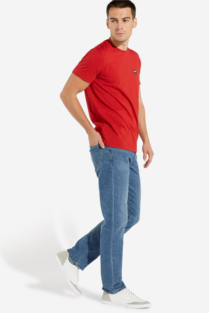 WranglerανδρικόT-shirt Sign Off TeeScarlet Red 1