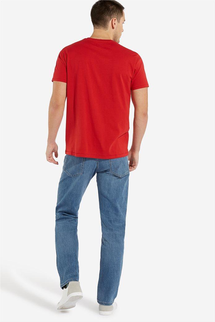 WranglerανδρικόT-shirt Sign Off TeeScarlet Red 2