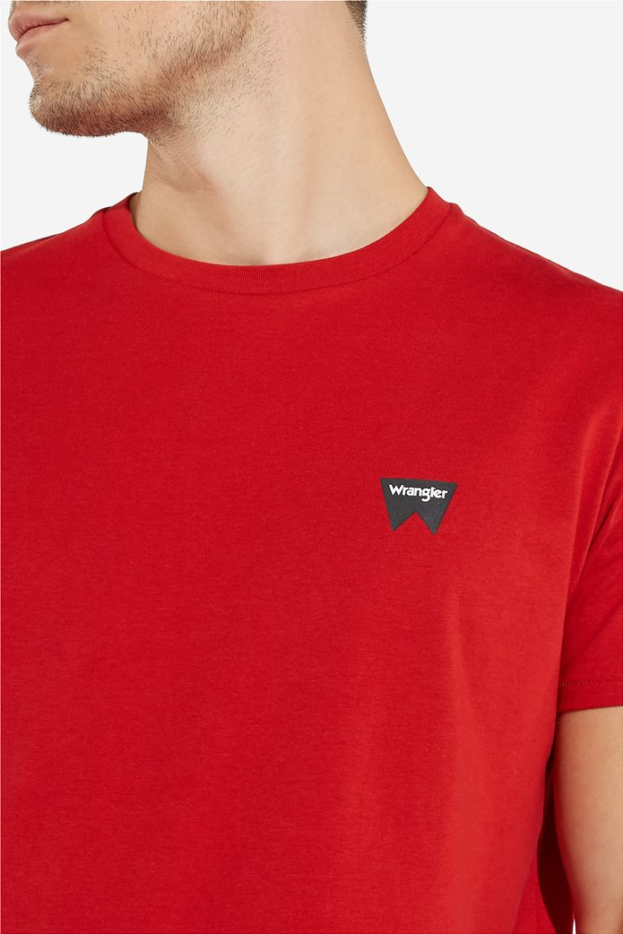 WranglerανδρικόT-shirt Sign Off TeeScarlet Red 4