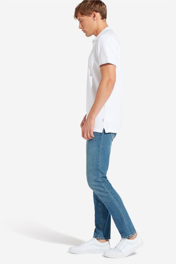 Wrangler ανδρική μπλούζα PoloWhite 1