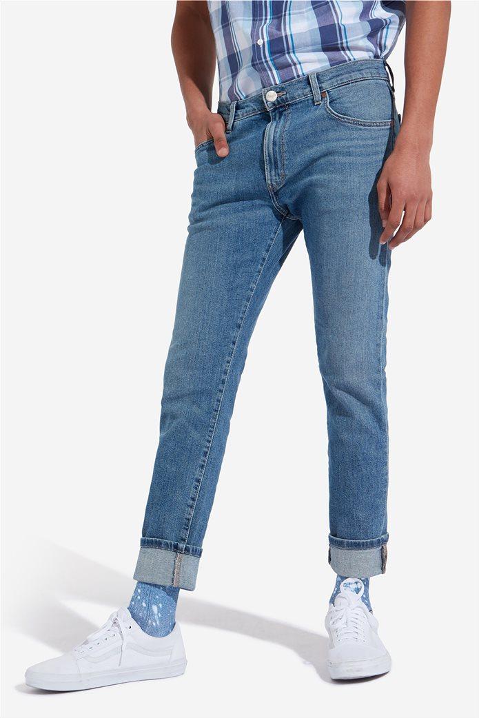 Wrangler ανδρικό τζην παντελόνι Larston Blue Charm 2