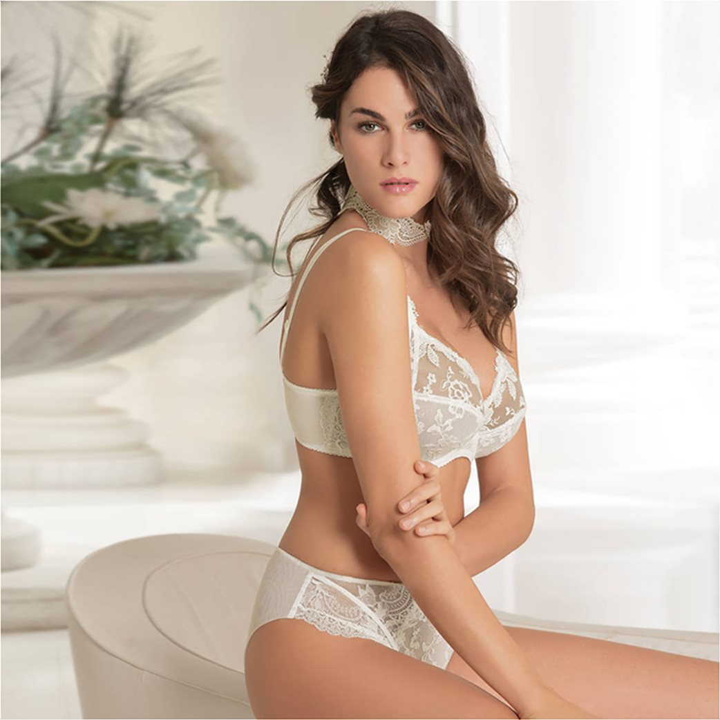 Lise Charmel γυναικείο σουτιέν από δαντέλα full cup well-being bra Cup E 1