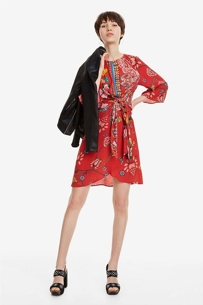 Desigual γυναικείο mini φόρεμα floral Glen 0