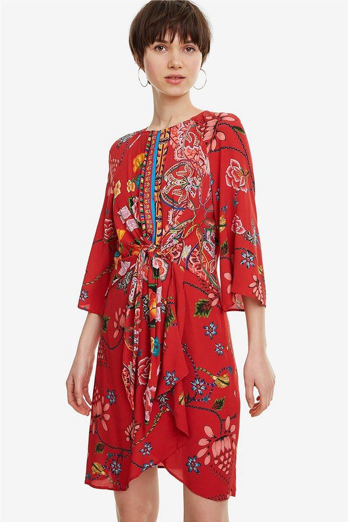 Desigual γυναικείο mini φόρεμα floral Glen 1