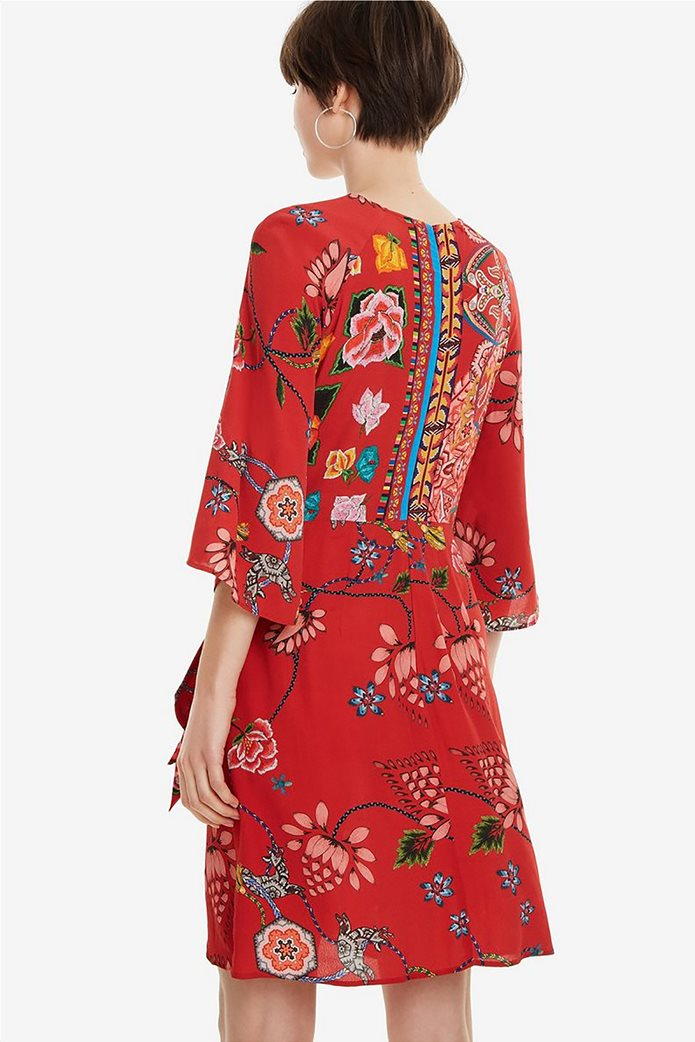 Desigual γυναικείο mini φόρεμα floral Glen 2