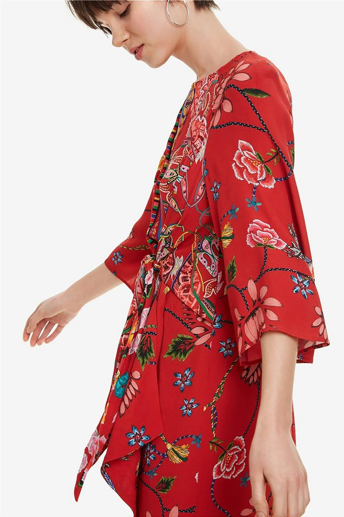 Desigual γυναικείο mini φόρεμα floral Glen 3