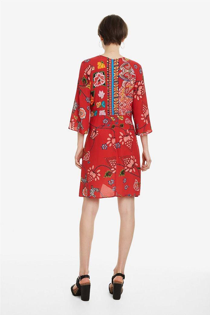 Desigual γυναικείο mini φόρεμα floral Glen 4