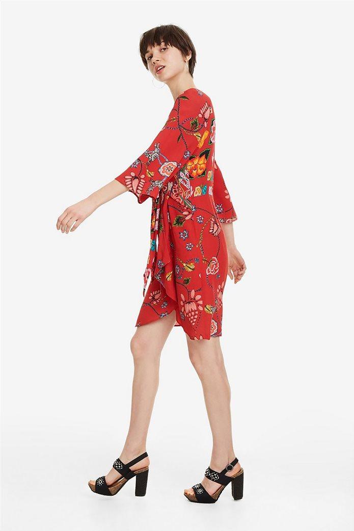 Desigual γυναικείο mini φόρεμα floral Glen 5