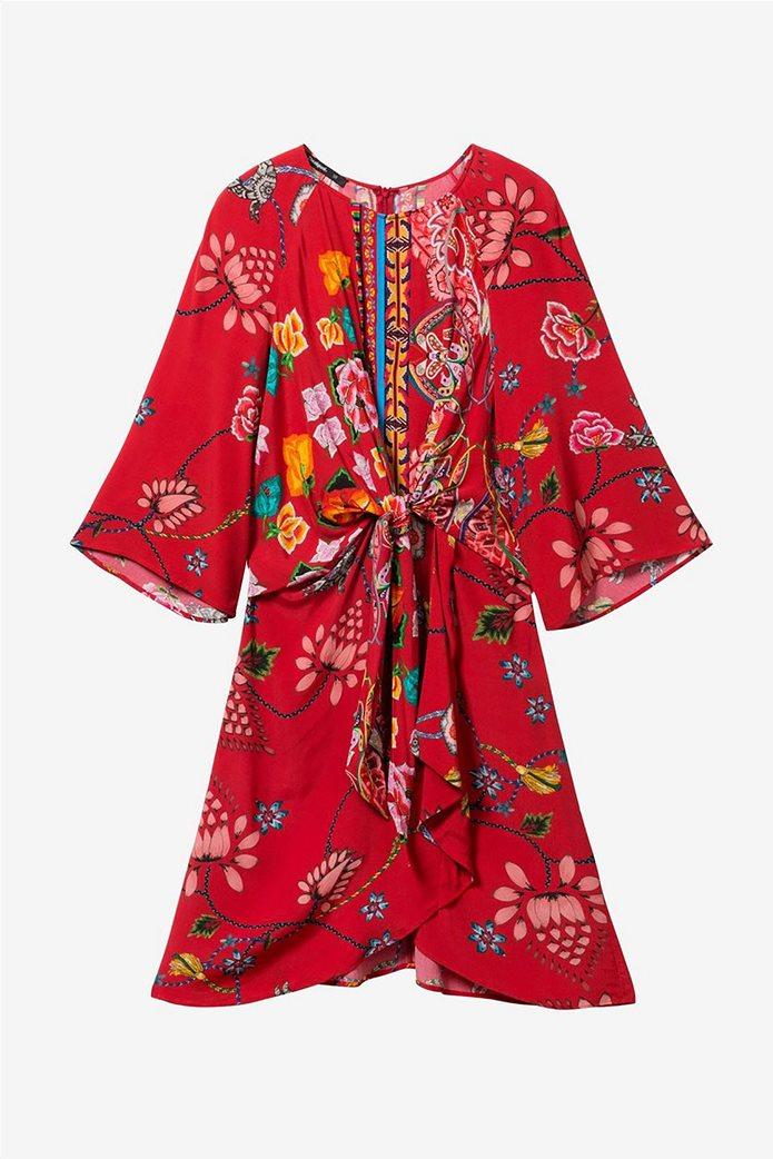 Desigual γυναικείο mini φόρεμα floral Glen 6