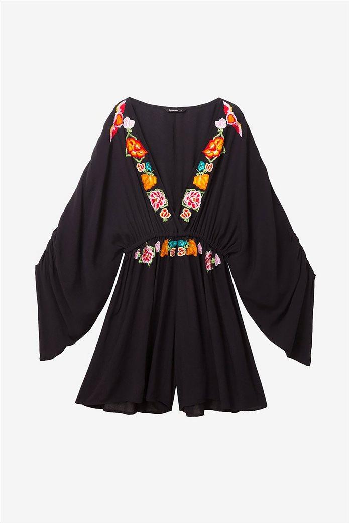 Desigual γυναικεία ολόσωμη φόρμα με κεντήματα Soraya 6