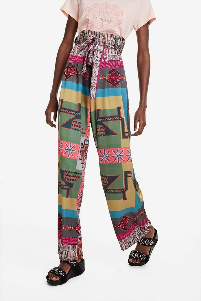 Desigual γυναικεία παντελόνα ψηλόμεση Νicole 1