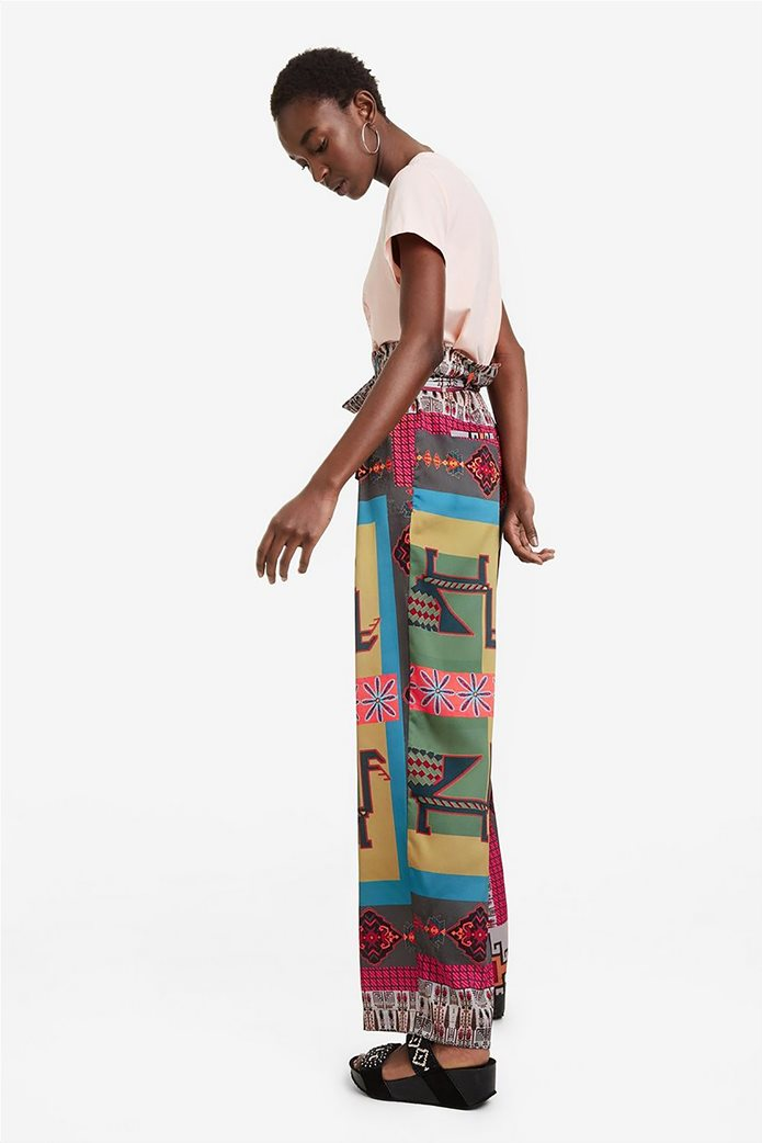 Desigual γυναικεία παντελόνα ψηλόμεση Νicole 4