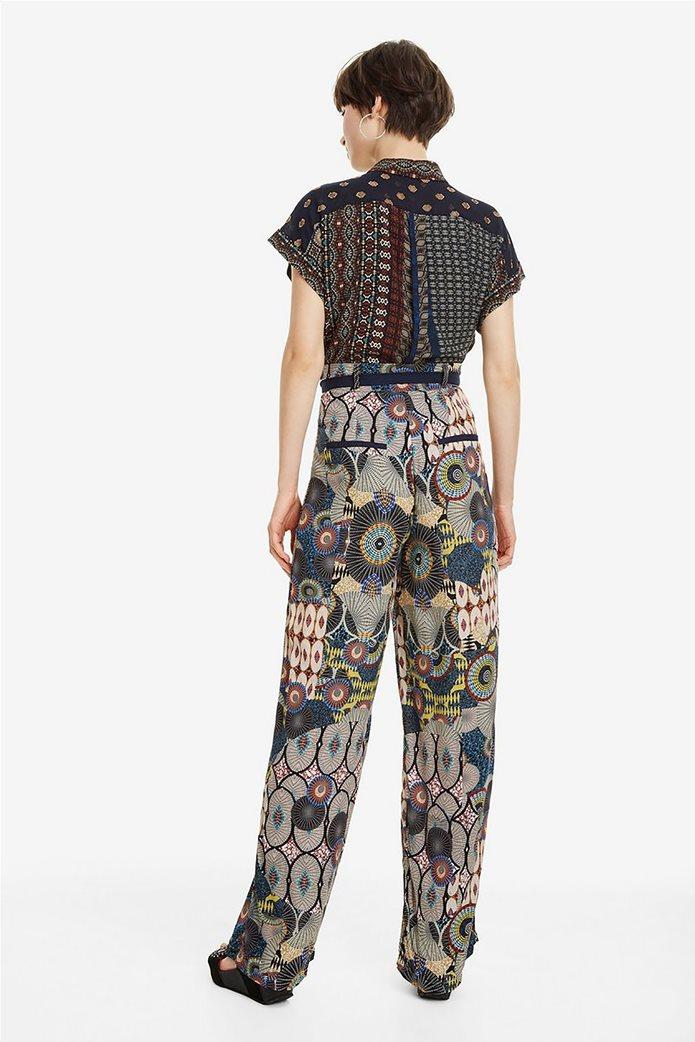 Desigual γυναικεία παντελόνα με ζωνάκι Debora 3