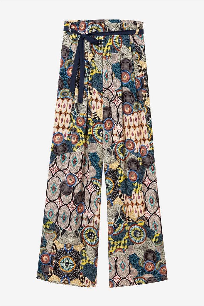Desigual γυναικεία παντελόνα με ζωνάκι Debora 6