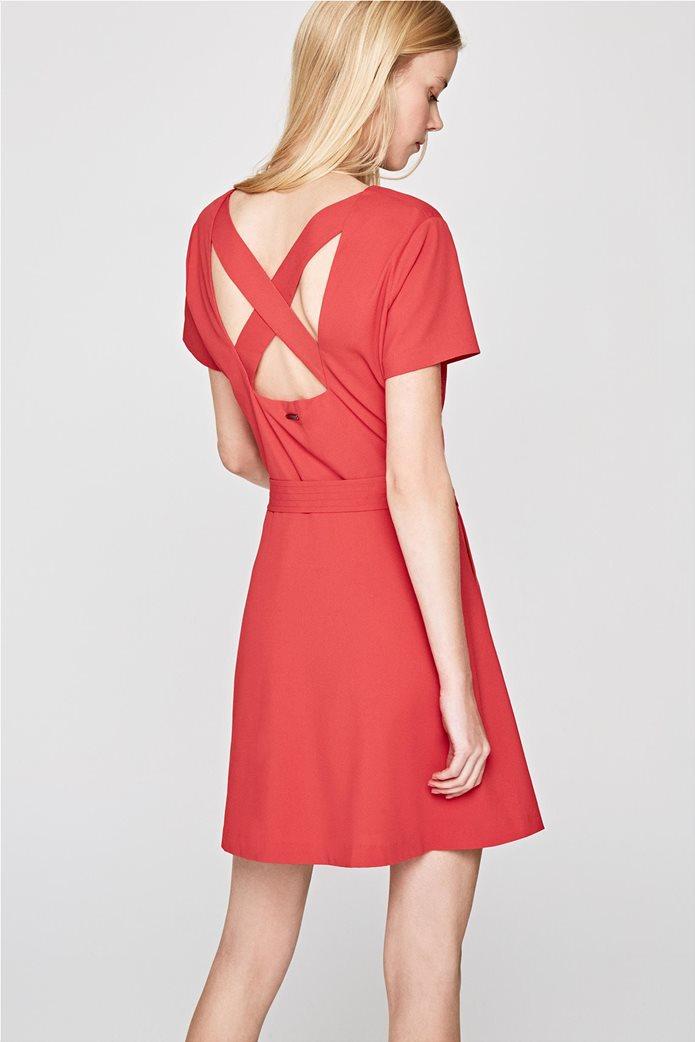 Pepe Jeans γυναικείo mini φόρεμα με V λαιμόκοψη Aina 1
