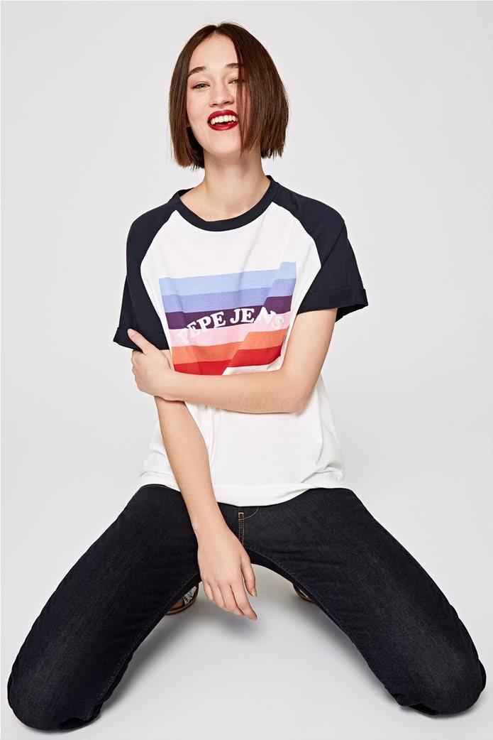 Pepe Jeans γυναικείο T-shirt με στάμπα Angy 0