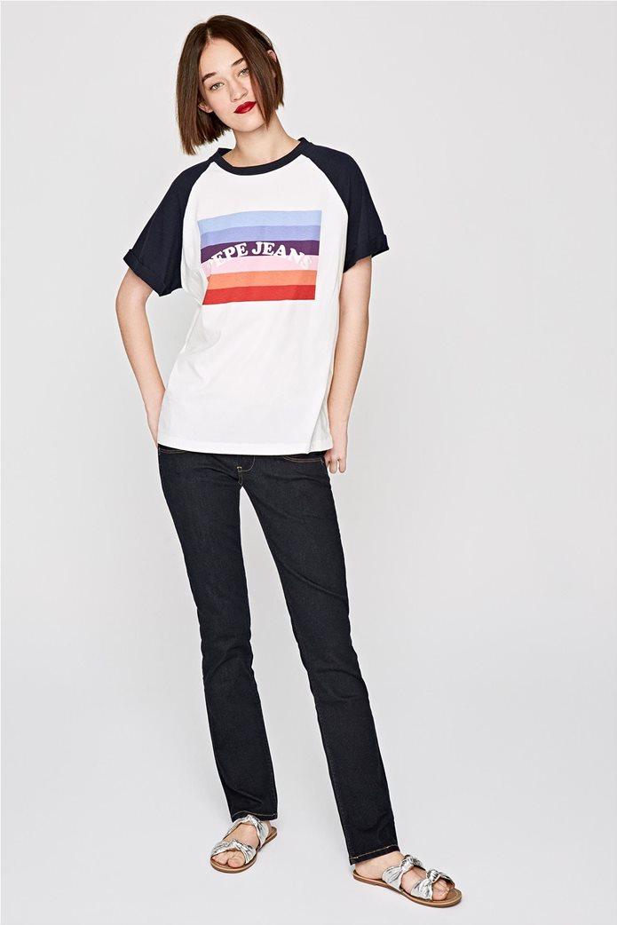 Pepe Jeans γυναικείο T-shirt με στάμπα Angy 1