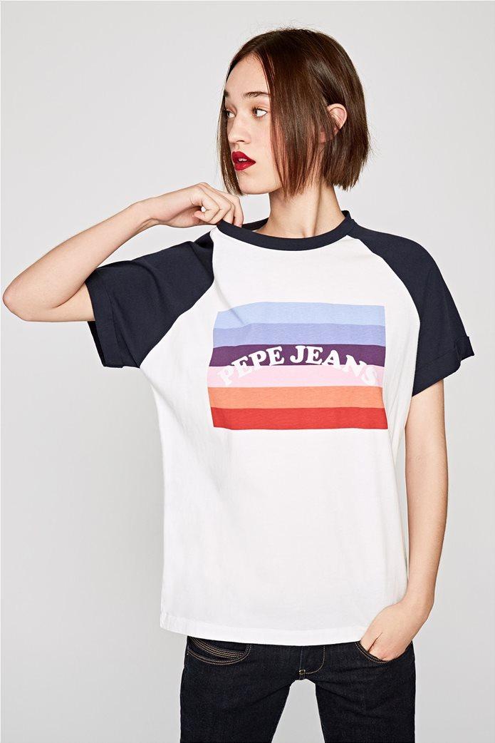 Pepe Jeans γυναικείο T-shirt με στάμπα Angy 2